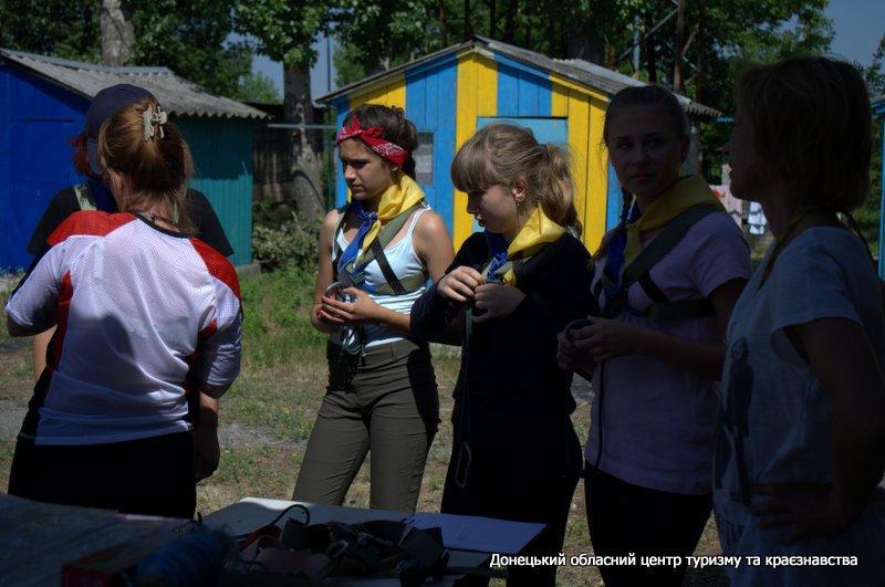 Туристы из Краматорска играли в «Джуру», фото-2