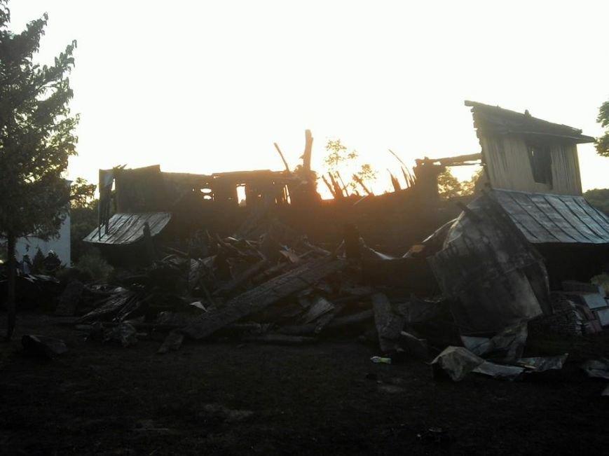 На Львівщині пожежа зруйнувала церкву 18 ст (ФОТО), фото-1
