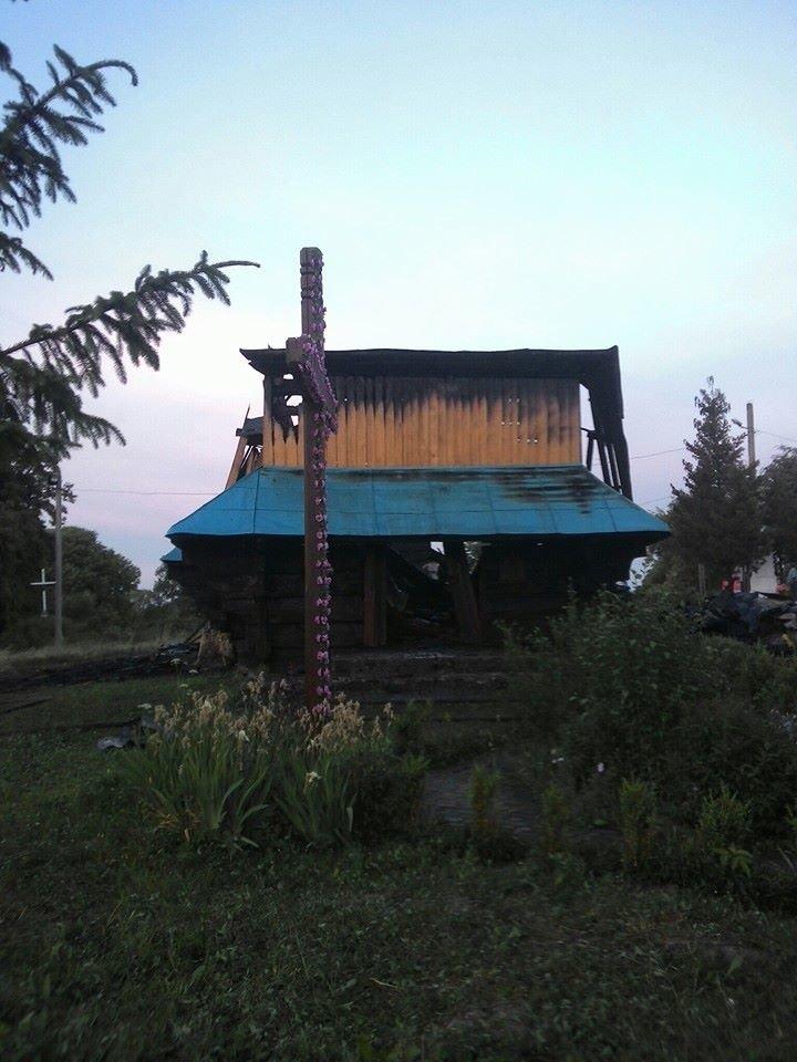 На Львівщині пожежа зруйнувала церкву 18 ст (ФОТО), фото-2