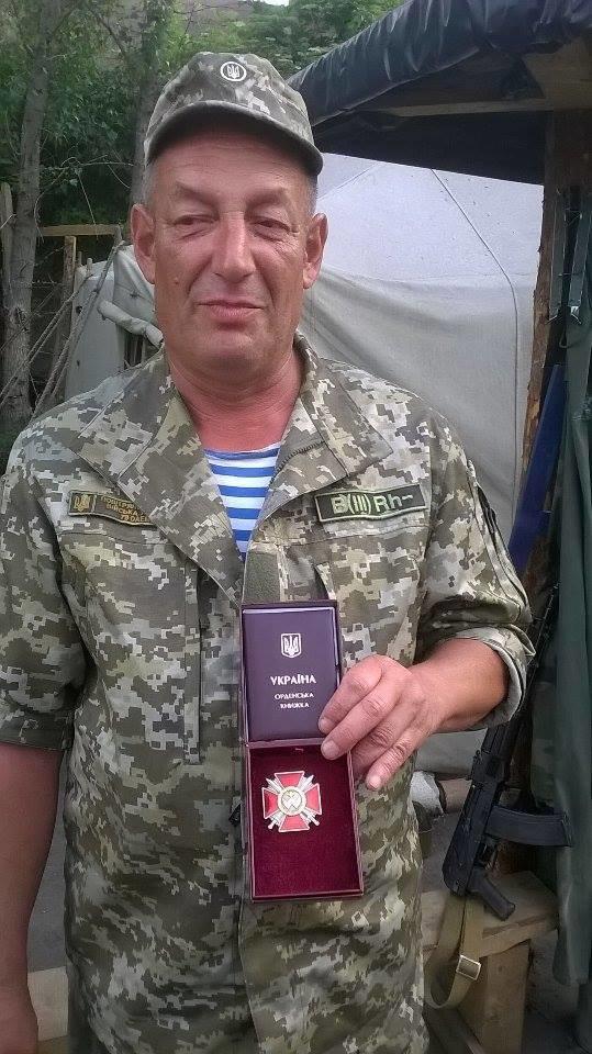 Порошенко наградил николаевского десантника  орденом Богдана Хмельницкого (ФОТО), фото-1