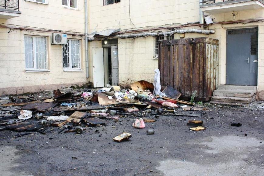 В центре Запорожья на масштабном пожаре спасатели эвакуировали 21 человека (ФОТО), фото-5