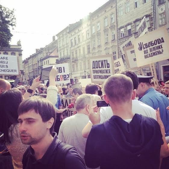 Активісти зібрали більше 2000 звернень до Садового з проханням не руйнувати сквер св. Юра (ФОТО) (фото) - фото 2