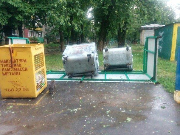 Фотофакт: в воскресенье Гомель «накрыло» дождем → http://odsgomel.org/rus/news/gomel/57315/ (фото) - фото 40