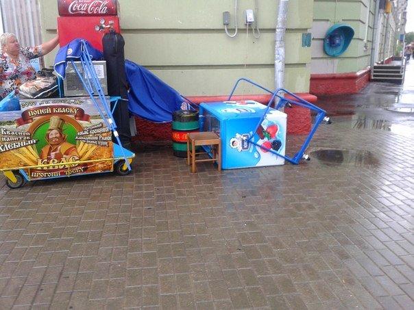 Фотофакт: в воскресенье Гомель «накрыло» дождем → http://odsgomel.org/rus/news/gomel/57315/ (фото) - фото 6
