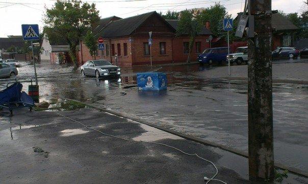Фотофакт: в воскресенье Гомель «накрыло» дождем → http://odsgomel.org/rus/news/gomel/57315/ (фото) - фото 27
