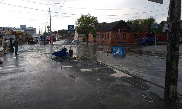 Фотофакт: в воскресенье Гомель «накрыло» дождем → http://odsgomel.org/rus/news/gomel/57315/ (фото) - фото 28