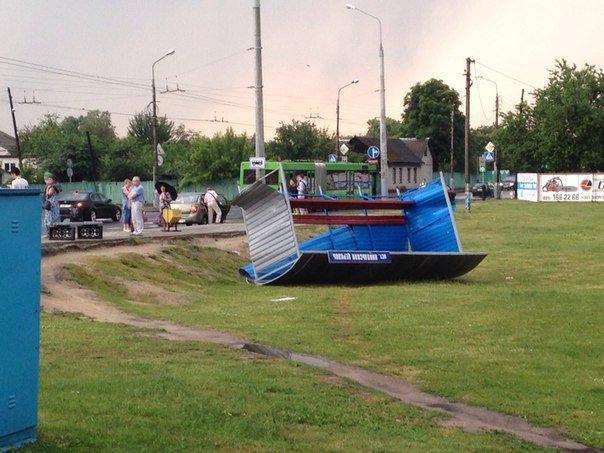 Фотофакт: в воскресенье Гомель «накрыло» дождем → http://odsgomel.org/rus/news/gomel/57315/ (фото) - фото 5