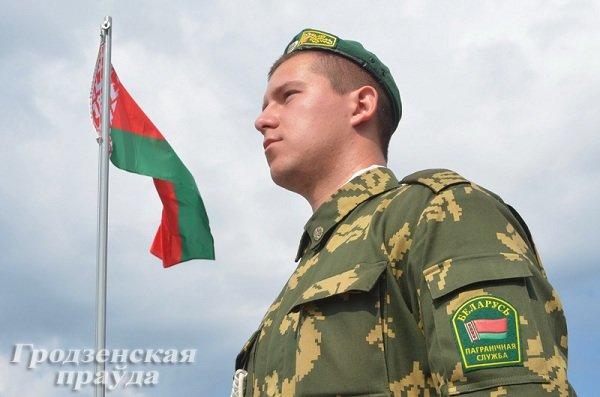 Фотофакт: В Гродно новобранцы-пограничники приняли военную присягу (фото) - фото 3