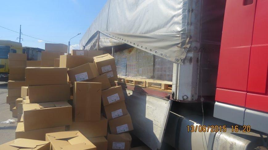 В Крым незаконно пытались ввезти более тонны бисквитов и печенья из Украины (ФОТО), фото-1