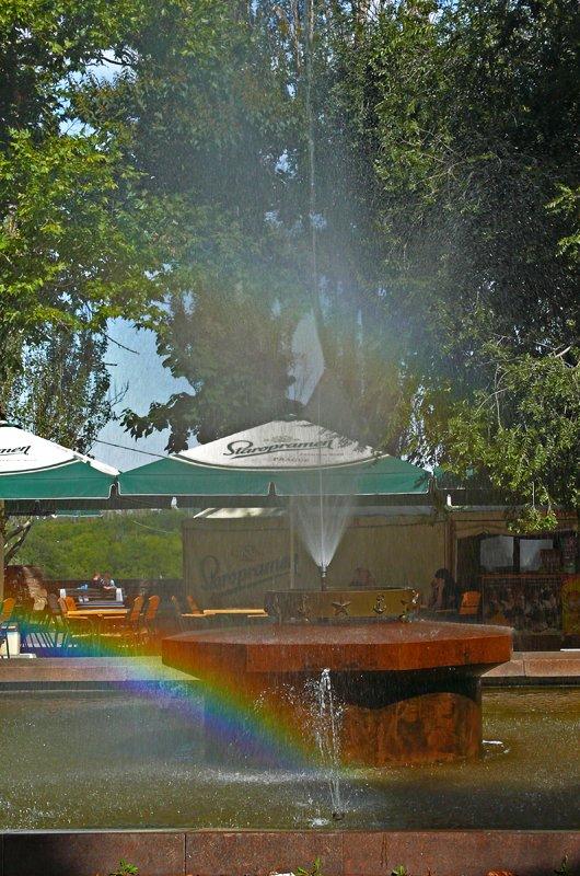 Прохлада по-николаевски: горожане ищут спасения от жары в фонтанах (ФОТОРЕПОРТАЖ) (фото) - фото 32