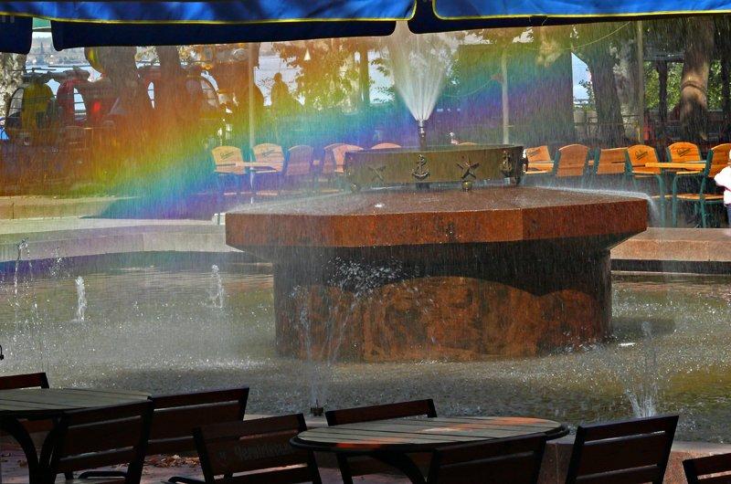 Прохлада по-николаевски: горожане ищут спасения от жары в фонтанах (ФОТОРЕПОРТАЖ) (фото) - фото 31