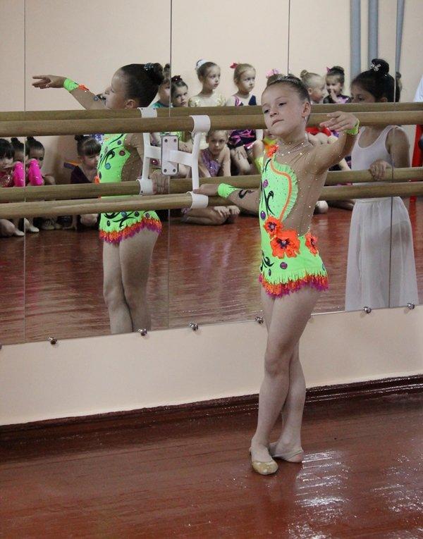 Юные гимнастки Краснодона получили новый зал за 200 тысяч гривен (ФОТО), фото-2