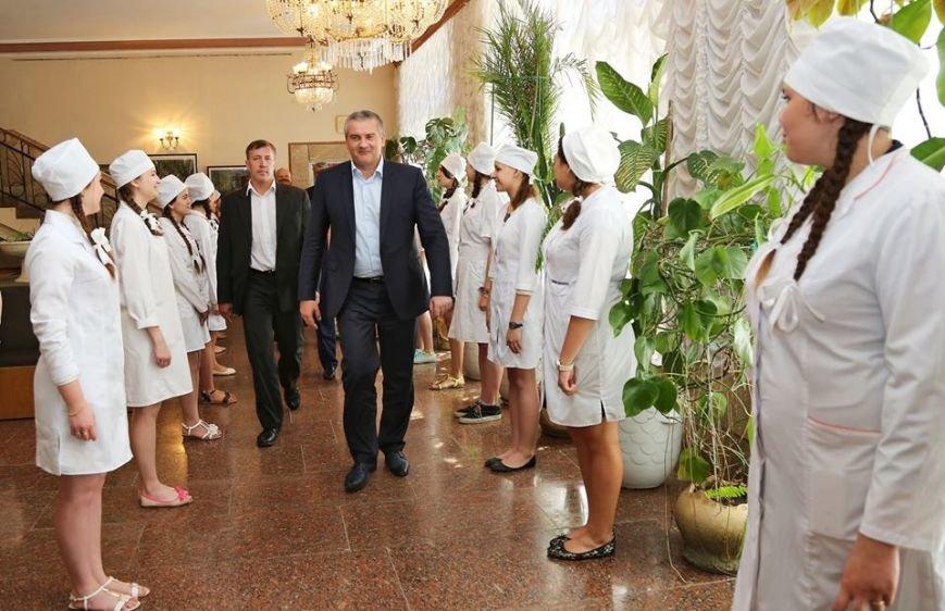 Аксенов извинился перед медработниками Крыма за «жесткие подходы в части принятия решений» (ФОТО), фото-1