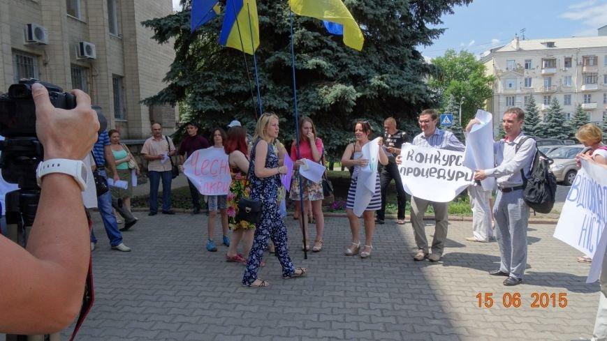 Вчера активисты Славянска пытались встретиться с новым председателем ОГА (фото) - фото 1