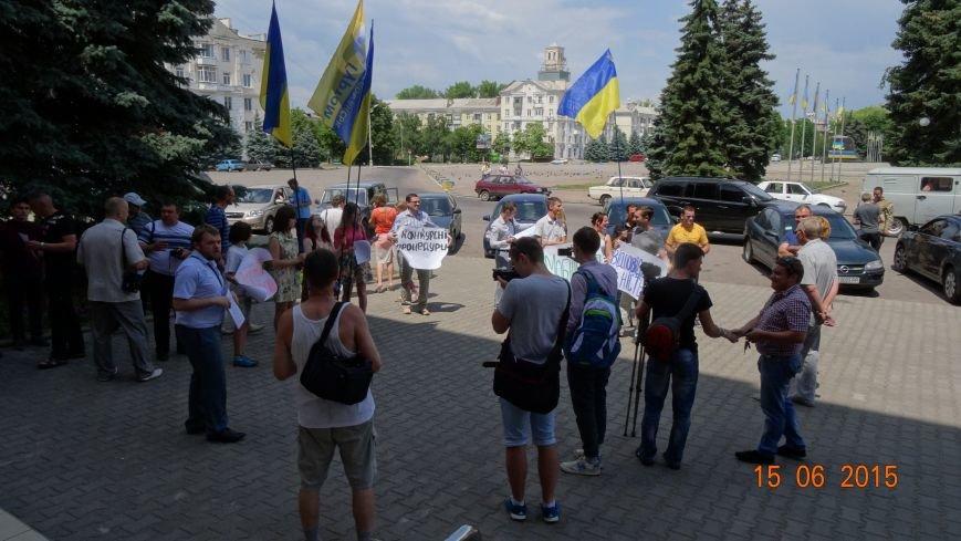 Вчера активисты Славянска пытались встретиться с новым председателем ОГА (фото) - фото 2