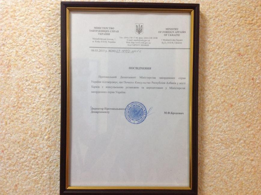 В Харькове открыли консульство Республики Албания (ФОТО), фото-13