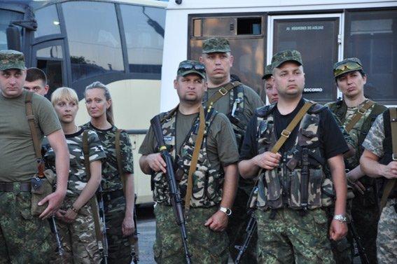 Сводный отряд сумских правоохранителей отправился в зону АТО (ФОТО) (фото) - фото 1