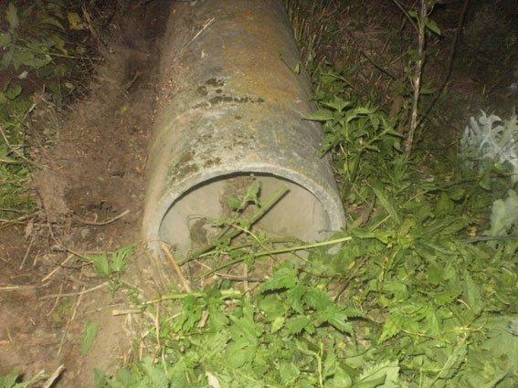 На Полтавщине пойман похититель асбестовых труб (ФОТО) (фото) - фото 1