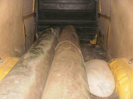 На Полтавщине пойман похититель асбестовых труб (ФОТО) (фото) - фото 2