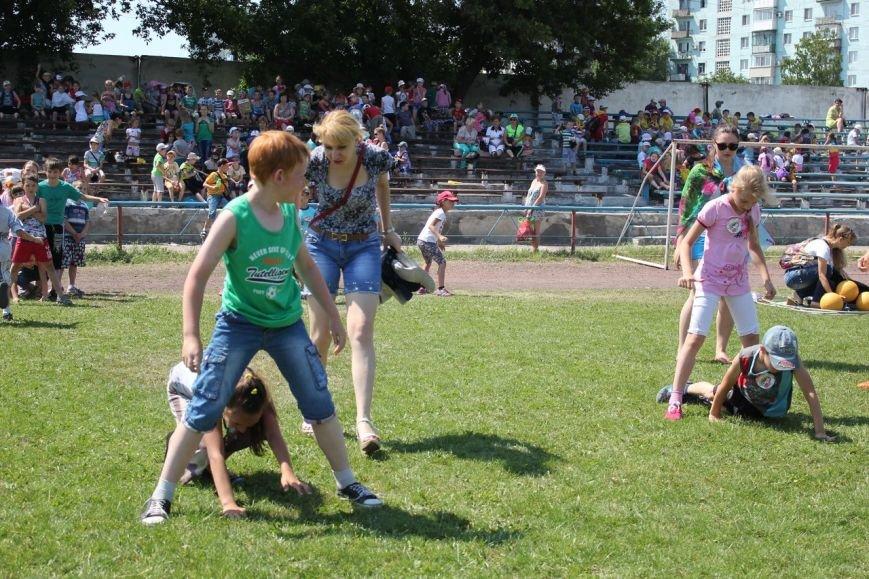 Веселые старты: в Димитрове прошел праздник спорта для детей из пришкольных лагерей (ФОТО) (фото) - фото 14