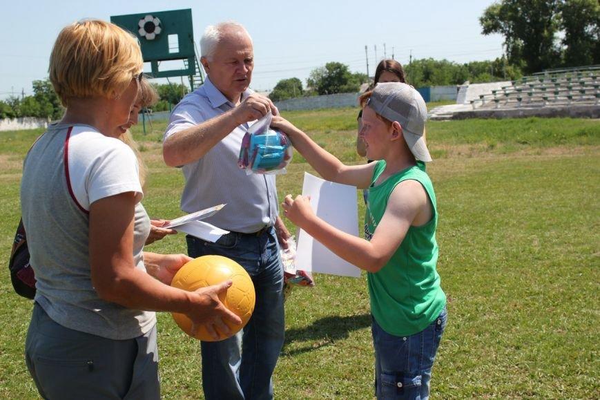 Веселые старты: в Димитрове прошел праздник спорта для детей из пришкольных лагерей (ФОТО) (фото) - фото 18