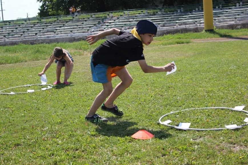 Веселые старты: в Димитрове прошел праздник спорта для детей из пришкольных лагерей (ФОТО) (фото) - фото 7