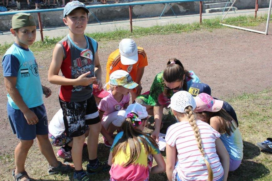 Веселые старты: в Димитрове прошел праздник спорта для детей из пришкольных лагерей (ФОТО) (фото) - фото 6
