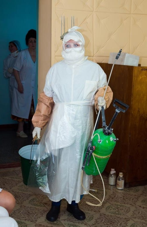 В Славянске из-за большой миграции населения возник риск заноса и распространения холеры (фото) - фото 1