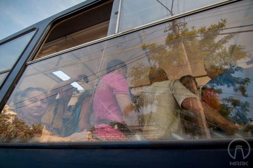 Саакашвили застрял в трамвае на Привозе (ФОТО) (фото) - фото 1