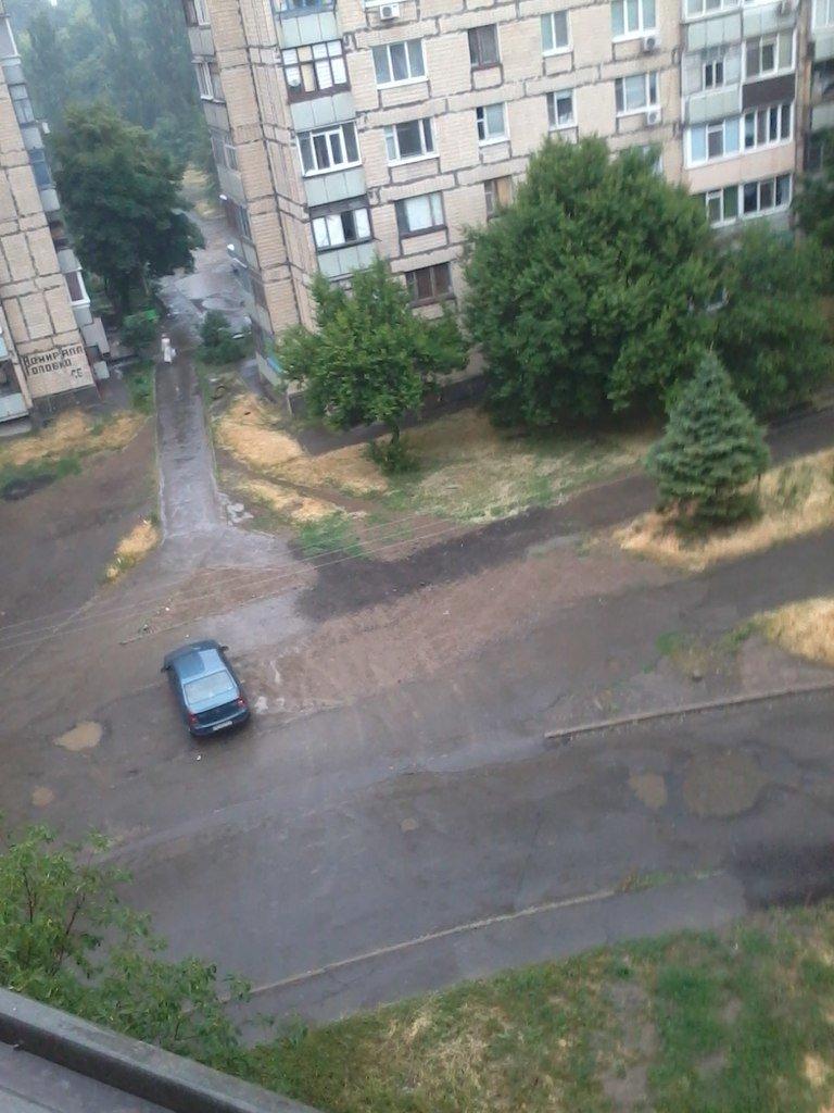 После изнуряющей жары Кривбасс накрыло полосой ливня (ФОТО) (фото) - фото 2