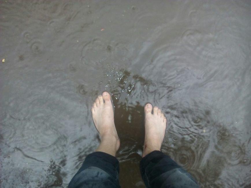 После изнуряющей жары Кривбасс накрыло полосой ливня (ФОТО) (фото) - фото 1