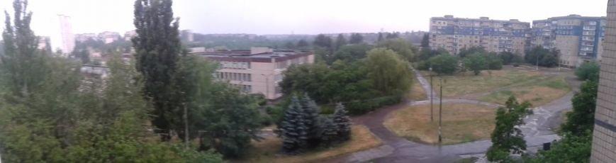 После изнуряющей жары Кривбасс накрыло полосой ливня (ФОТО) (фото) - фото 3