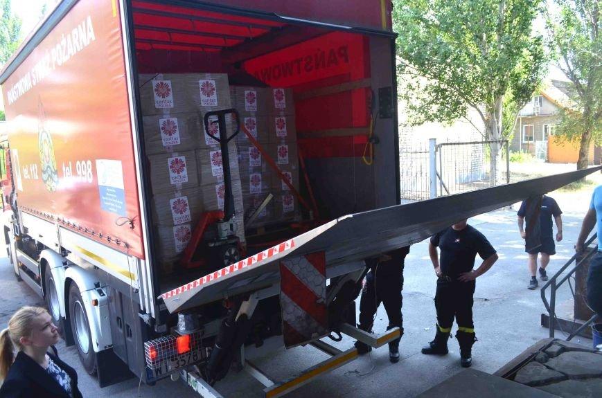 В Запорожье доставили сотни тонн гуманитарного груза из Европы (ФОТОРЕПОРТАЖ), фото-1
