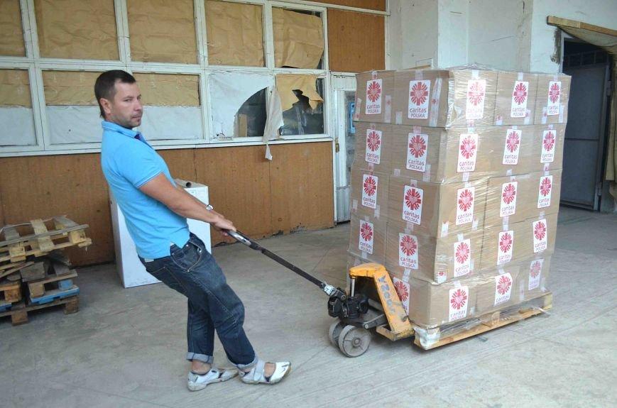В Запорожье доставили сотни тонн гуманитарного груза из Европы (ФОТОРЕПОРТАЖ), фото-7