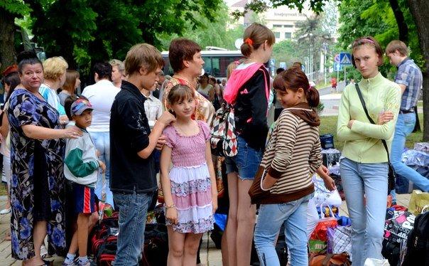 Сегодня 500 детей из ДНР отправились на отдых в Крым (ФОТО) (фото) - фото 1