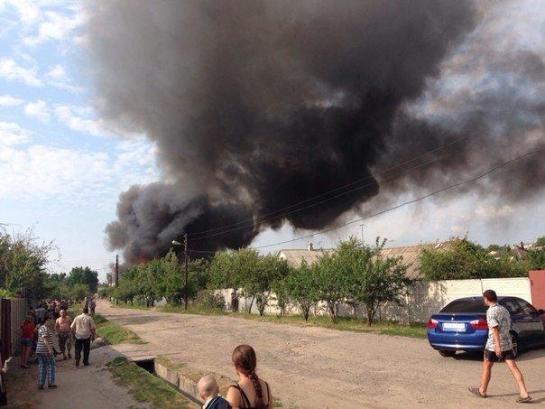В Харькове горит частный дом (ФОТО) (фото) - фото 1