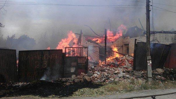 В Харькове горит частный дом (ФОТО), фото-1