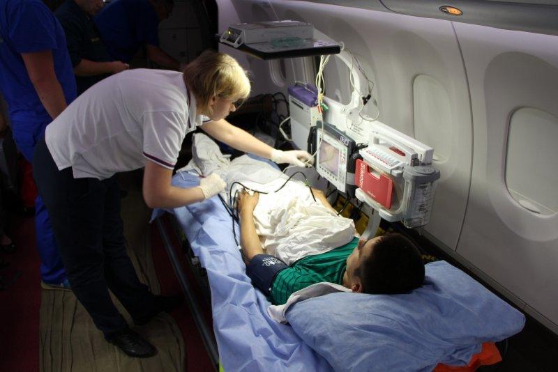Пятерых тяжелобольных крымчан, в том числе двух малышей, доставили спецбортом в ведущие клиники России (ФОТО), фото-6