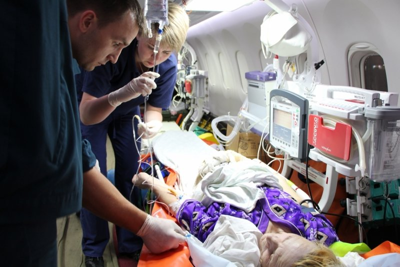 Пятерых тяжелобольных крымчан, в том числе двух малышей, доставили спецбортом в ведущие клиники России (ФОТО), фото-5