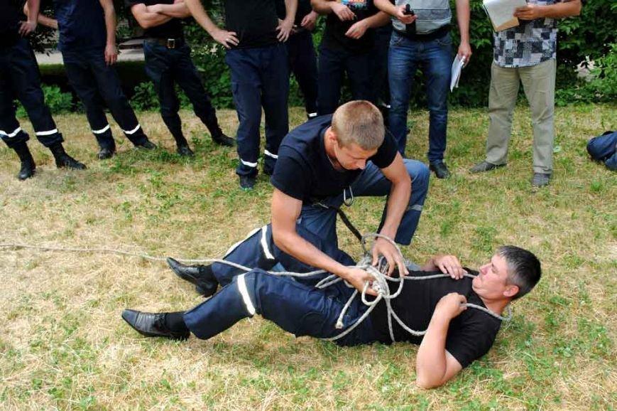 На Днепропетровщине начальники караулов соревновались за звание «Лучший начальник караула» (ФОТО) (фото) - фото 1