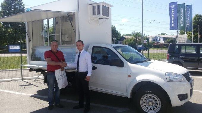 В Украине продан первый торговый фургон GREAT WALL WINGLЕ (фото) - фото 1