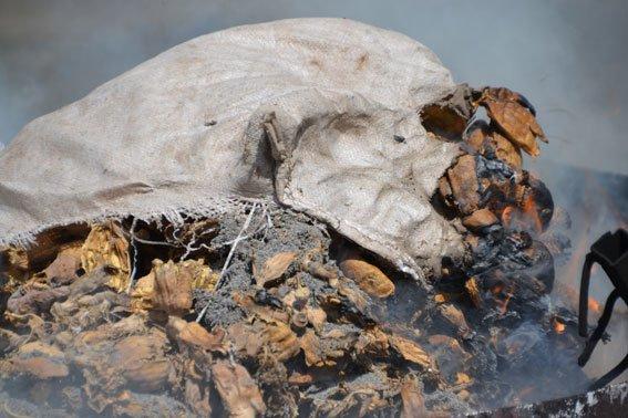 Львівські правоохоронці спалили наркотиківна суму півтора мільйона гривень (ФОТО) (фото) - фото 3