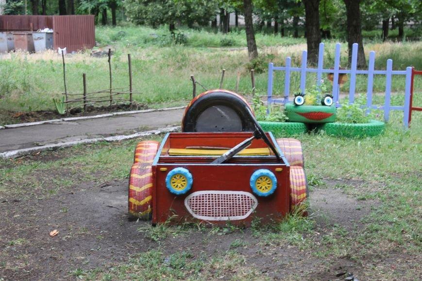 В Кривом Роге «при поддержке» молодых мамочек появилась детская площадка (ФОТО), фото-3
