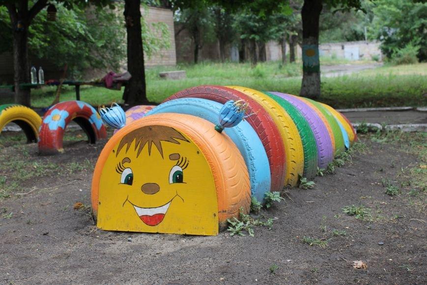 В Кривом Роге «при поддержке» молодых мамочек появилась детская площадка (ФОТО), фото-6