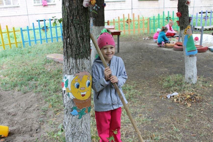В Кривом Роге «при поддержке» молодых мамочек появилась детская площадка (ФОТО), фото-1