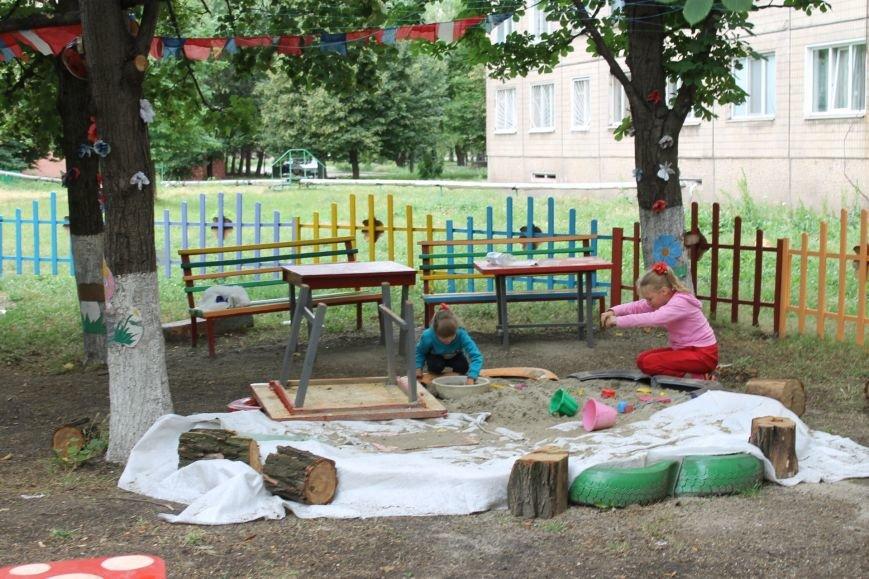 В Кривом Роге «при поддержке» молодых мамочек появилась детская площадка (ФОТО), фото-11
