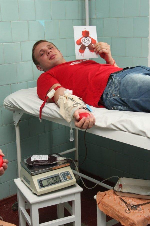 Чернівецькі студенти-медики здавали кров, фото-1