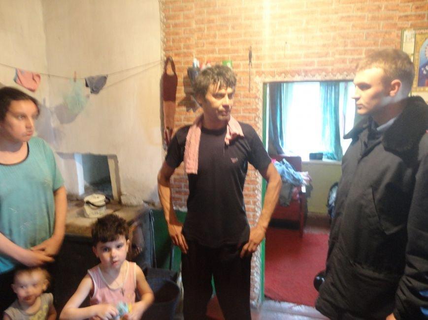 Посещение УИМ неблагополучных семей
