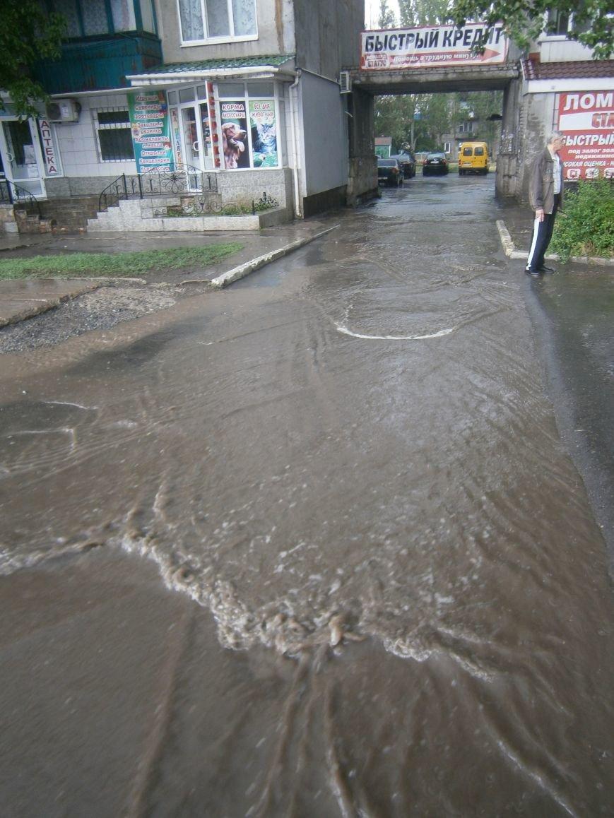 Как Димитров сегодня утопал в дождевых водах (ОБНОВЛЕНО) (фото) - фото 8