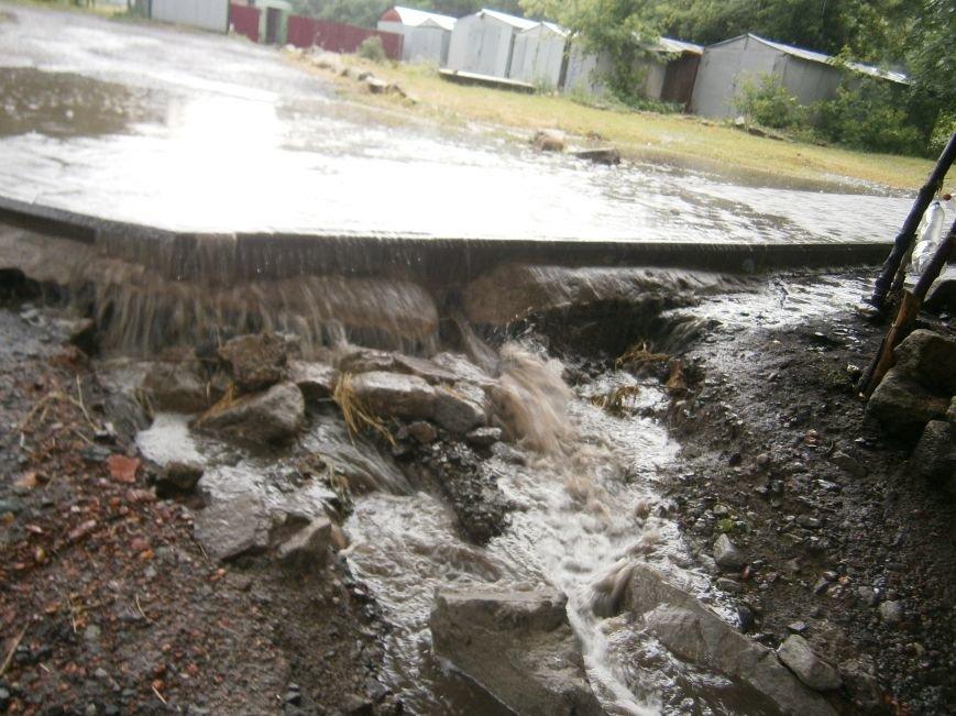 Как Димитров сегодня утопал в дождевых водах (ОБНОВЛЕНО) (фото) - фото 14